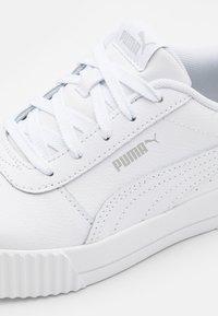 Puma - CARINA - Trainers - white/gray violet - 5