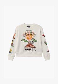 Scotch & Soda - CREWNECK WITH ARTWORKS - Sweatshirt - off white - 0