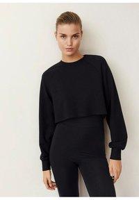Mango - HYGGE - Sweatshirt - black - 0