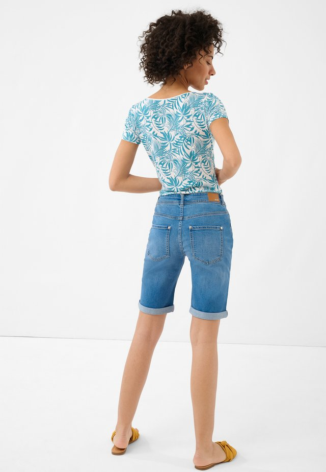 Denim shorts - mid stoned