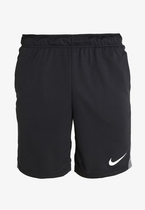 SHORT TRAIN - Korte sportsbukser - black/iron grey/white