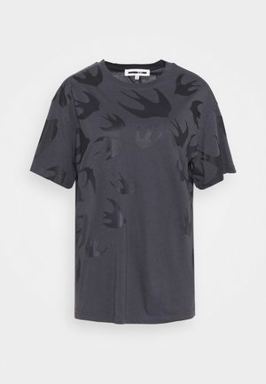BOYFRIEND  - T-shirts print - black ash