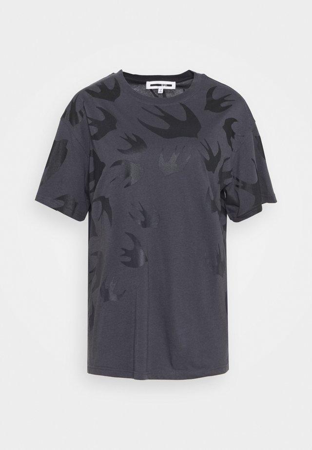 BOYFRIEND  - T-shirt print - black ash