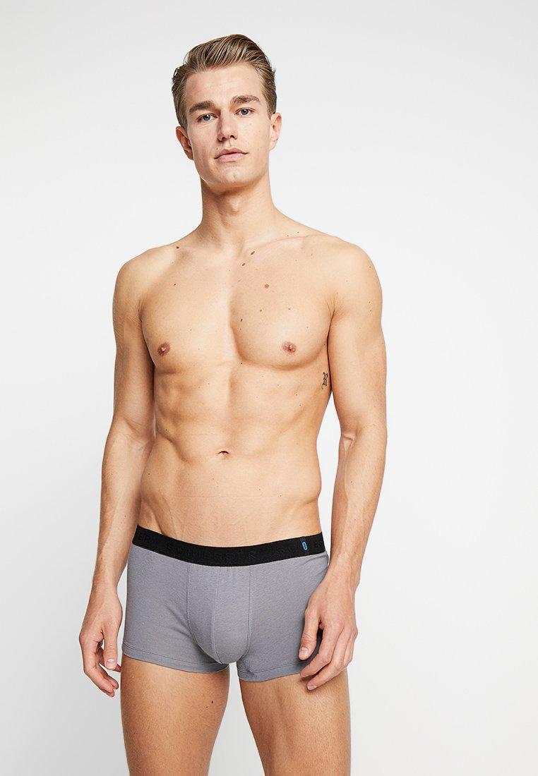 Schiesser - 2 PACK - Pants - schwarz/grau