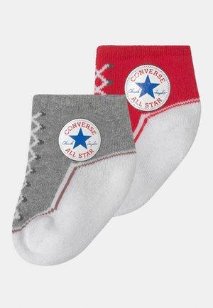 CHUCK TODDLER 2 PACK UNISEX - Socks - vintage grey