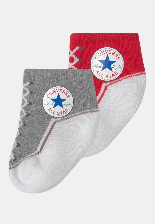 CHUCK TODDLER 2 PACK UNISEX - Socks - vintage grey