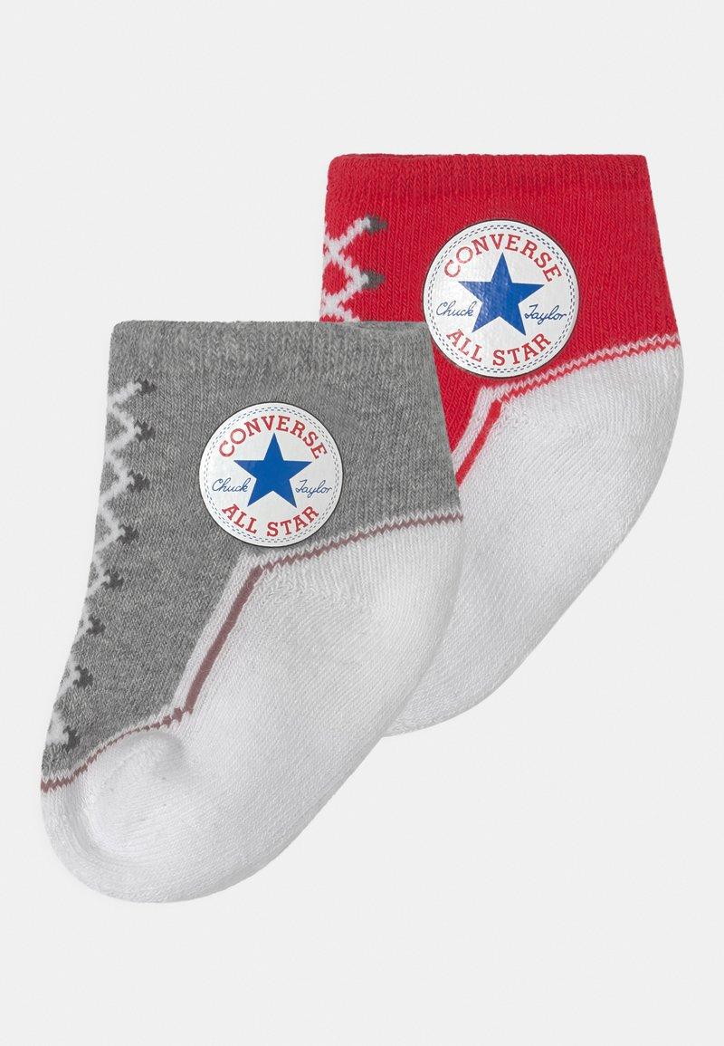 Converse - CHUCK TODDLER 2 PACK UNISEX - Socks - vintage grey