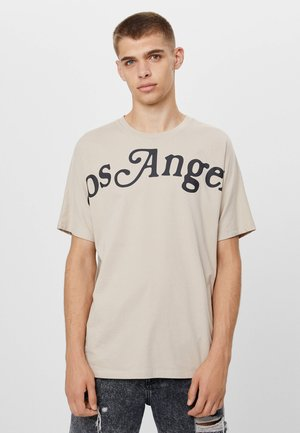 BEDRUCKTES - T-shirt con stampa - beige