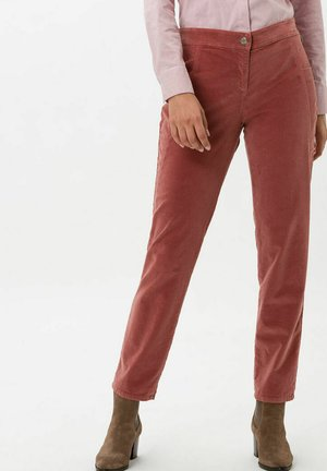 STYLE MELO - Trousers - powder