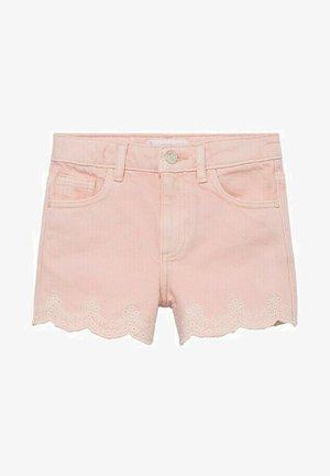 Denim shorts - rose