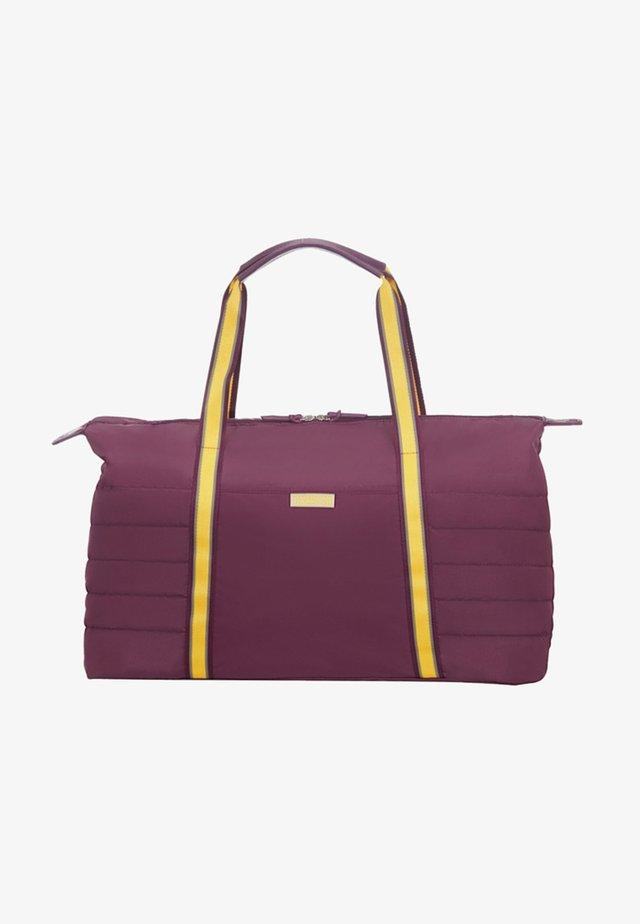 UPTOWN VIBES - Weekend bag - purple/yellow