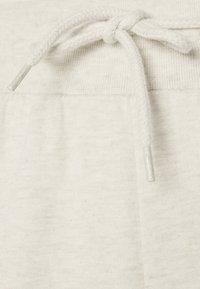 Even&Odd - 2er PACK - Slim fit joggers - Tracksuit bottoms - black/mottled beige - 6
