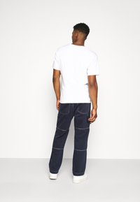 Kickers Classics - DRILL TROUSER WITH TOPSTITCH - Jeans relaxed fit - navy - 2