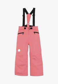 Color Kids - SANGLO PADDED SKI PANTS - Snow pants - sugar coral - 4