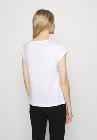 Anna Field - 3 PACK - T-shirt basique - black/white/dark red - 2