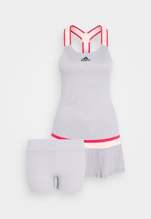 PRO HEAT SPORTS SLIM DRESS SET - Sukienka sportowa - glow grey