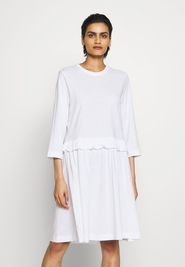 CURL - Jersey dress - white