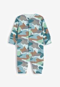 Next - 3 PACK  - Pyjamas - blue/brown/white - 3