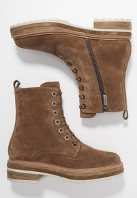 Pons Quintana - ANDREA - Platform ankle boots - toffee - 3