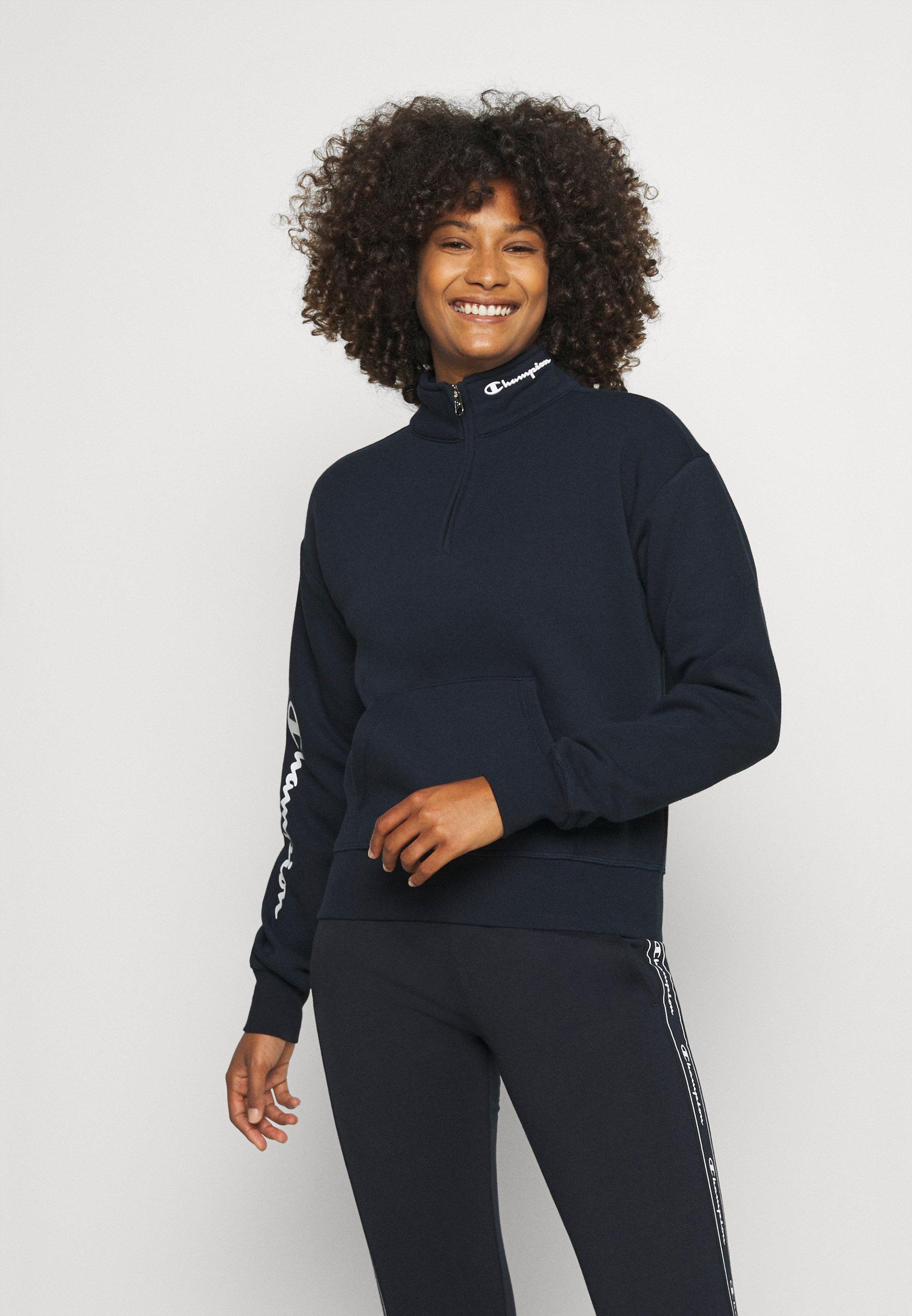 Women HALF ZIP - Sweatshirt