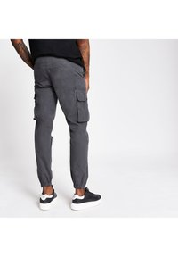 River Island - Cargo trousers - grey - 2