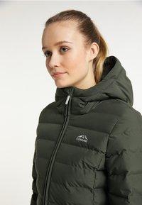 ICEBOUND - Winter jacket - dunkeloliv - 3