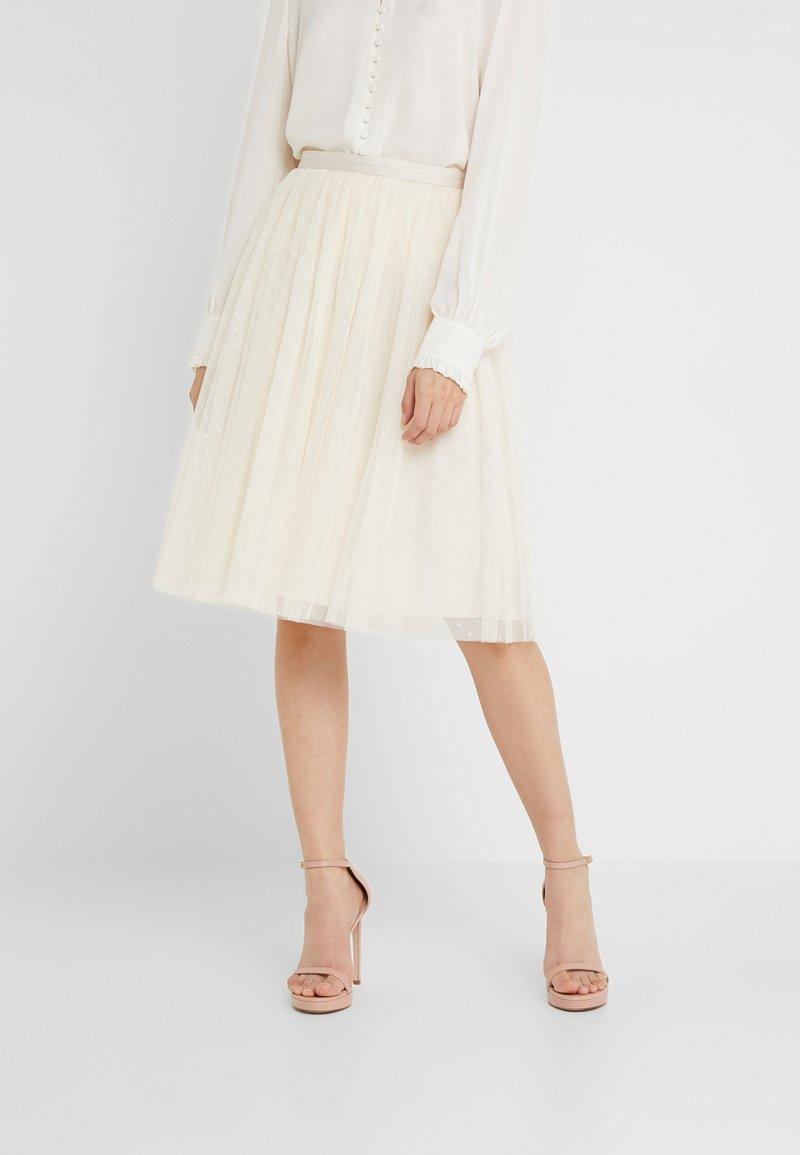 Needle & Thread - KISSES SKIRT - Pencil skirt - champagne