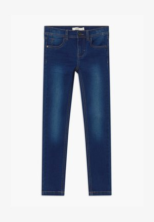 NKMPETE DNMTONSON - Slim fit jeans - medium blue denim