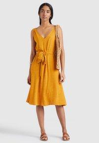 khujo - SPRING - Day dress - gelb - 1