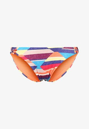 BRAIDED 70'S - Bikini bottoms - desert point/geo/electric