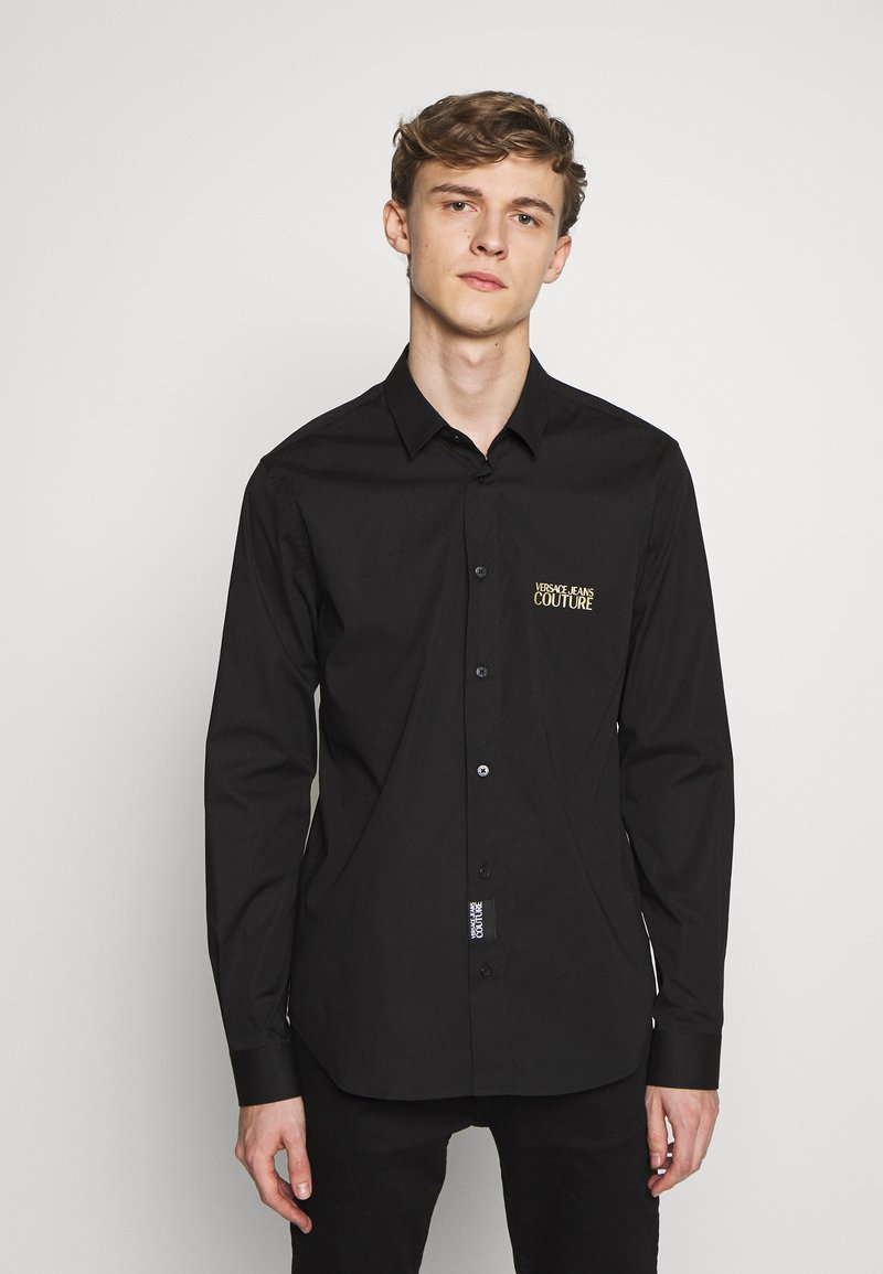 Versace Jeans Couture - BASIC LOGO - Camicia - black