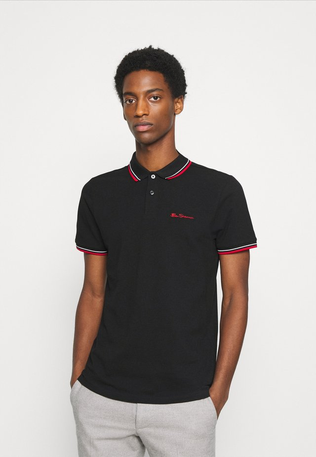 SIGNATURE - Polo - black