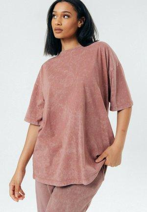 T-shirt basic - brick