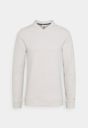 GO TO CREW NECK  - Felpa - clear brown