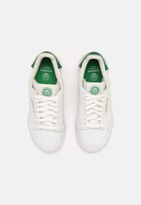 adidas Originals - CONTINENTAL 80 UNISEX - Sneakers - white/off white/green - 3