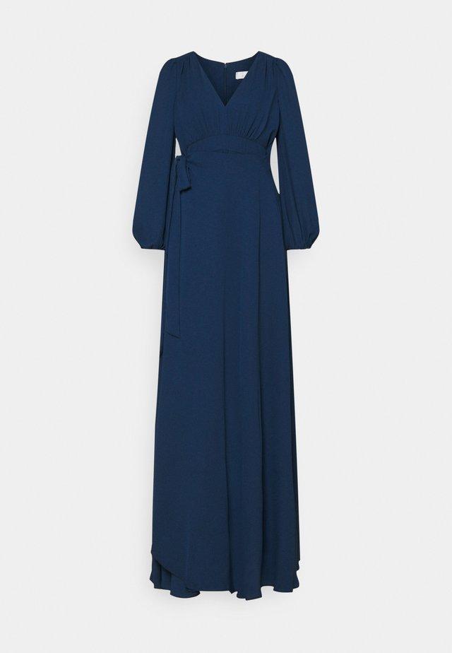 ANGELINA - Společenské šaty - navy