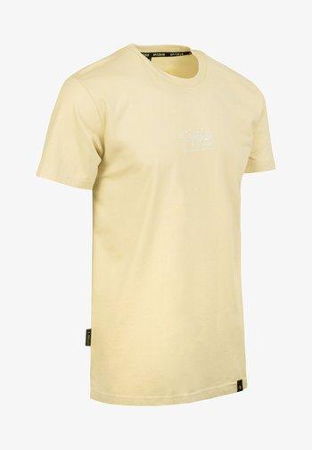 SEBASTIAN - Print T-shirt - beige