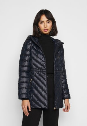 ANORAK COAT - Down coat - navy