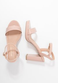 New Look - QUEEN - Sandály na vysokém podpatku - oatmeal - 3