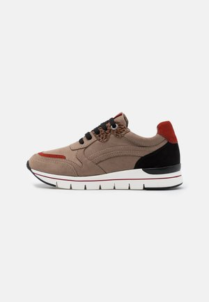 LACE UP - Sneakers laag - taupe