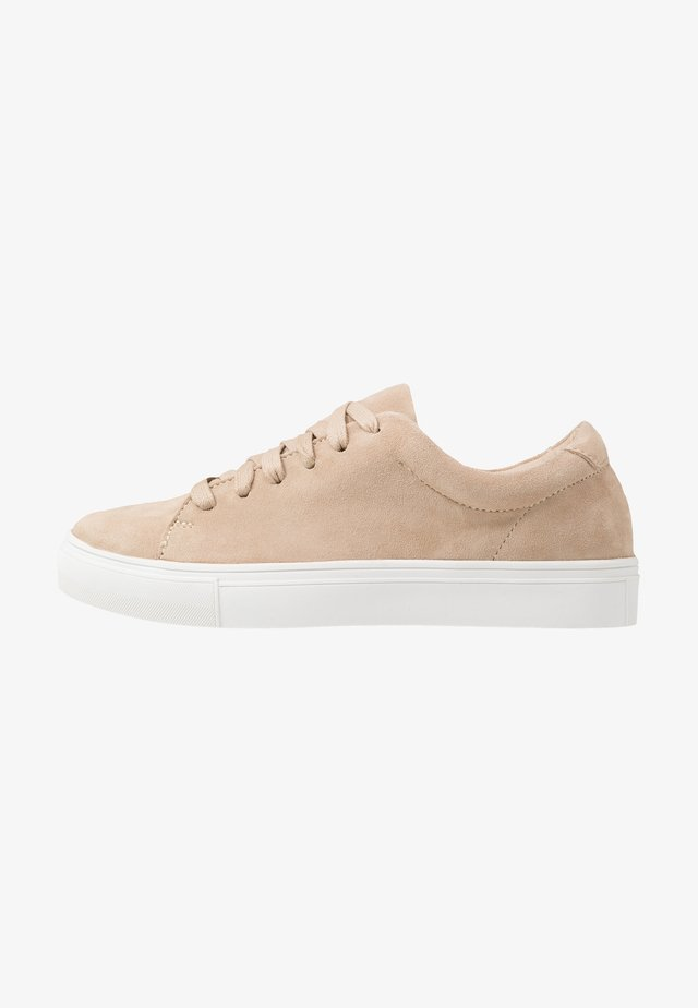LEATHER UNISEX - Trainers - beige