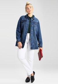 Zizzi - EMILY - Slim fit jeans - bright white - 1
