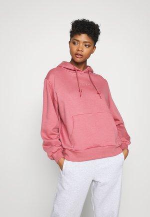 HOODIE  - Sweatshirt - trace maroon