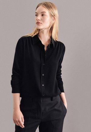 ROSE - Button-down blouse - schwarz