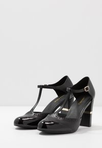 Anna Field - LEATHER PUMPS - Escarpins à talons hauts - black - 4