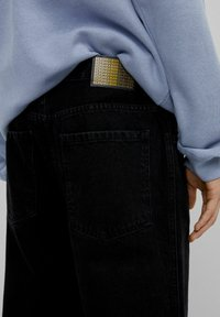Bershka - Straight leg jeans - black - 3