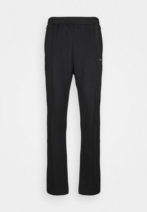 STRIPE TRACK PANT UNISEX - Pantalon classique - black