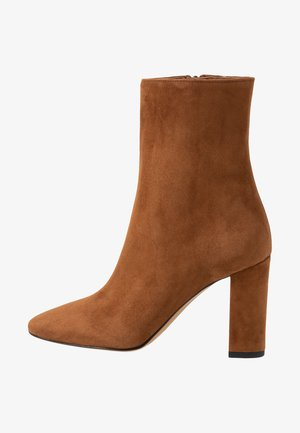High heeled ankle boots - rodeo
