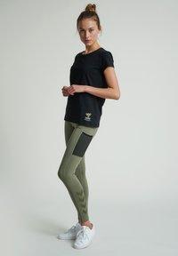 Hummel - SCARLET - Basic T-shirt - black - 1