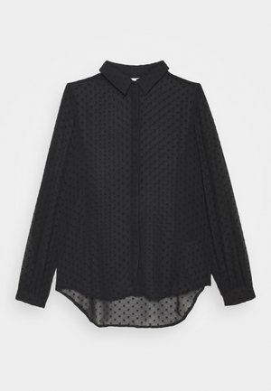 VIMOSI - Button-down blouse - black